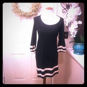Chic  Lilly Pulitzer 100% Merino Wool Midi Dress